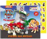 Psi Patrol Zabawa w kolory Pieski na medal - zbiorowe opracowanie | mała okładka