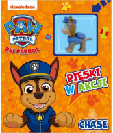 Psi Patrol Pieski w Akcji Chase - zbiorowe opracowanie | mała okładka