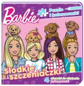 Barbie Puzzle i kolorowanki Słodkie szczeniaczki. - zbiorowe opracowanie | mała okładka