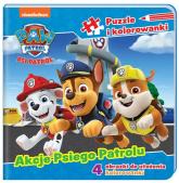 Psi Patrol Puzzle i kolorowanki Akcje Psiego Patrolu - zbiorowe opracowanie | mała okładka