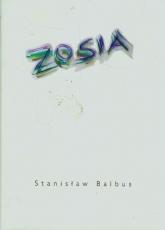 Zosia - Stanisław Balbus   mała okładka