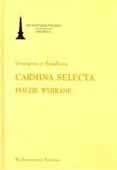 Carmina Selecta Poezje wybrane -  | mała okładka