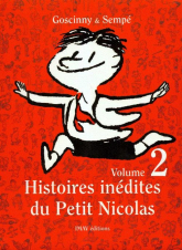 Histoires inedites du Petit Nicolas 2 - Goscinny Rene, Sempe Jean Jacques | mała okładka