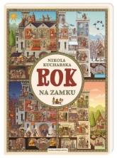Rok na zamku  - Nikola Kucharska | mała okładka