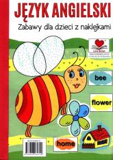 Język angielski Zabawy dla dzieci z naklejkami -  | mała okładka