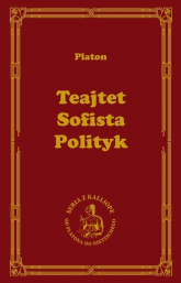 Teajtet Sofista Polityk - Platon   mała okładka
