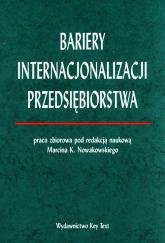 Bariery internacjonalizacji przedsiębiorstwa -  | mała okładka