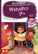 Wszystko gra Już czytam Zagadki matematyczne - Marcin Kozioł   mała okładka