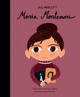Mali WIELCY Maria Montessori - Sanchez-Vegara Maria Isabel | mała okładka