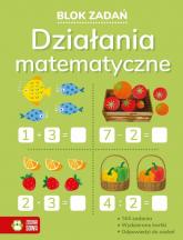 Blok zadań Działania matematyczne - Leszek Gołuchowski | mała okładka