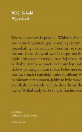 Wyjechali - W.G. Sebald | mała okładka