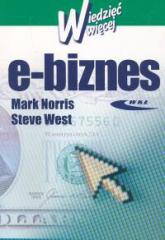 E-biznes - Norris Mark, West Steve | mała okładka