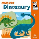 Dinozaury Memory Kapitan Nauka - zbiorowa praca | mała okładka