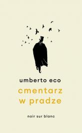 Cmentarz w Pradze - Umberto Eco   mała okładka