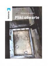 Pliki otwarte - Marzena Jaworska | mała okładka