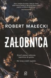 Żałobnica Wielkie Litery - Robert Małecki | mała okładka