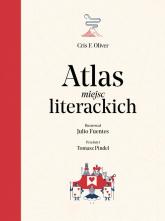 Atlas miejsc literackich - Oliver Cris F.   mała okładka
