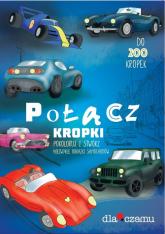 Połącz kropki Pokoloruj i stwórz niezwykłe obrazki samochodów - Bołdok-Banasikowska Olga, Urban Marcin   mała okładka