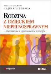 Rodzina wobec seksualności dziecka z niepełnosprawnością intelektualną - Elżbieta Pieńkowska   mała okładka