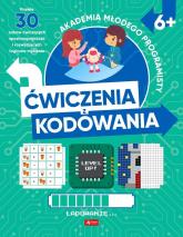 Akademia młodego programisty Ćwiczenia z kodowania - Żarowska-Mazur Alicja, Mazur Dawid   mała okładka