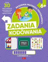 Akademia młodego programisty Zadania z kodowania - Żarowska-Mazur Alicja,Mazur Dawid   mała okładka