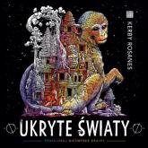 Ukryte światy Pokoloruj niezwykłe krainy - Kerby Rosanes | mała okładka
