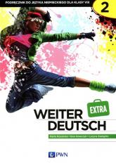Weiter Deutsch 2 EXTRA Podręcznik Szkoła podstawowa - Kozubska Marta, Krawczyk Ewa, Zastąpiło Lucyna   mała okładka