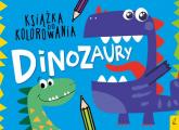 Książka do kolorowania Dinozaury -    mała okładka