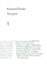 Sierpień - Krzysztof Żwirski | mała okładka