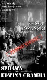 Sprawa Edwina Cramma - Zenon Różański   mała okładka