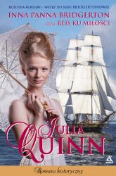 Inna panna Bridgerton, czyli rejs ku miłości Wielkie Litery - Julia Quinn   mała okładka
