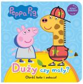 Peppa Pig Koło Zabawy Duży czy mały? - null null | mała okładka