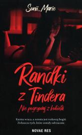 Randki z Tindera - Sonii Marie   mała okładka