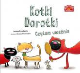 Kotki Dorotki Czytam uważnie - Joanna Krzyżanek   mała okładka