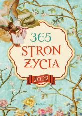 365 stron życia Terminarz 2022 - Bielecka Justyna, Wołącewicz Hubert | mała okładka