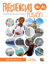 Frecuencias fusion A1+A2 Zeszyt ćwiczeń do nauki języka hiszpańskiego + zawartość online - Francisca Fernández, Emilio Marín y Francisco Rivas   mała okładka