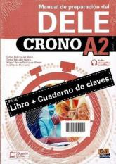 Crono DELE A2 Podręcznik do nauki języka hiszpańskiego + zawartość online -    mała okładka