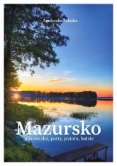 Mazursko Miasteczka porty jeziora ludzie - Agnieszka Żelazko | mała okładka