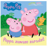 Peppa Pig Czytajmy razem Peppa zawsze zaradzi! - null null | mała okładka