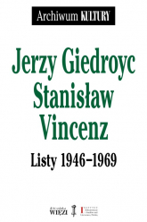 Listy 1946-1969 - Giedroyc Jerzy, Vincenz Stanisław | mała okładka