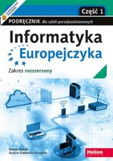 Informatyka Europejczyka Część 1 Podręcznik dla szkół ponadpodstawowych Zakres rozszerzony - Korman Danuta, Szabłowicz-Zawadzka Grażyna | mała okładka
