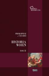 Prokopiusz z Cezarei Historia Wojen Tom 2 Wojny z Gotami t. II (ks. V - VIII) -    mała okładka