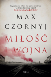 Miłość i wojna Wielkie Litery - Max Czornyj | mała okładka
