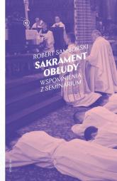 Sakrament obłudy - Robert Samborski | mała okładka