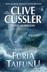 Furia tajfunu - Cussler Clive, Morrison Boyd | mała okładka