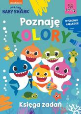 Baby Shark Poznaję kolory Księga zadań -  | mała okładka