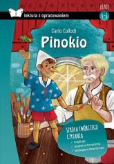 Pinokio Lektura z opracowaniem Klasy 4-6 Szkoła podstawowa - Carlo Collodi | mała okładka