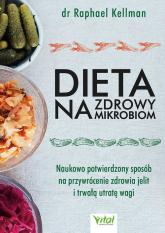 Dieta na zdrowy mikrobiom - Raphael Kellman   mała okładka