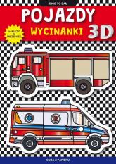 Pojazdy wycinanki 3 D - Krzysztof Tonder   mała okładka