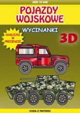 Pojazdy wojskowe wycinanki 3 D - Krzysztof Tonder   mała okładka
